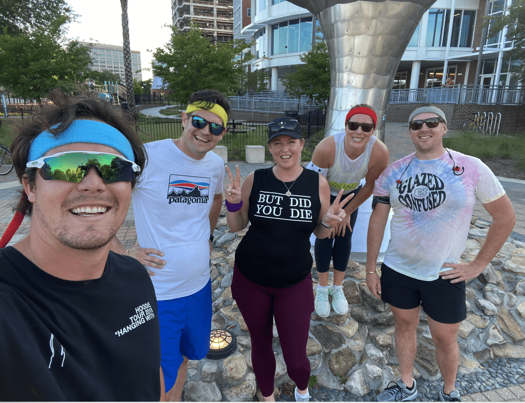 running, downtown, fit club, downtown council, jax chamber